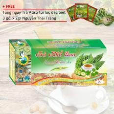 Giảm giá TRÀ THẢO DƯỢC KHỔ QUA RỪNG + Tặng 3 gói trà Atiso x 2gr – Nguyên Thái Trang