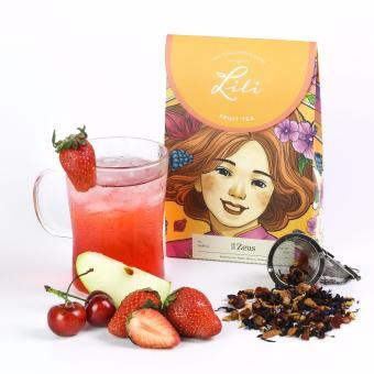Trà trái cây Lili tổng hòa 5 hương vị dâu - 50g