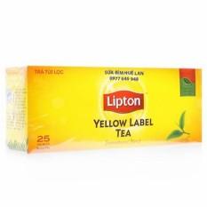 Trà Túi Lọc Nhãn Vàng Lipton Hộp 50G ( 25 Gói X 2G )