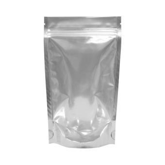 Túi nhôm đáy đứng zipper 1 mặt trong 1 mặt bạc 22x30cm (ĐVT Kg)