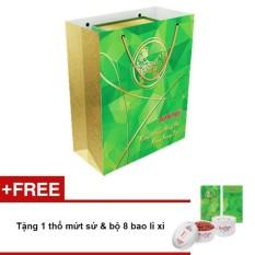 Túi quà tết 1 lon Anlene Gold MOVEPRO™ hương Vani 800g + Tặng 1 thố mứt sứ & bộ 8 bao lì xì