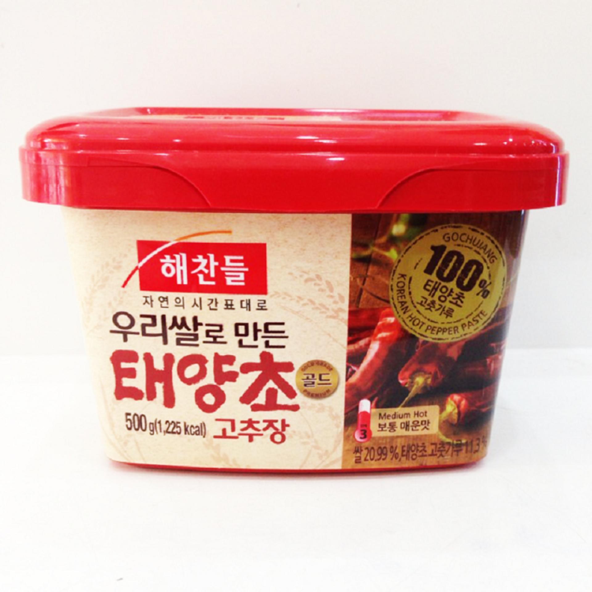 Vì sao mua Tương Ớt Hàn Quốc Gochujang Nhập Khẩu (500g)