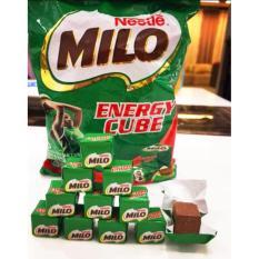 Chi tiết sản phẩm Viên kẹo sữa nén dạng vuông Milo Energy Cube 275g 100 viên
