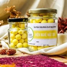 Viên tinh bột nghệ mật ong 100g