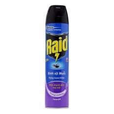 Xịt Muỗi Raid FIK Hương Lavender 600ml