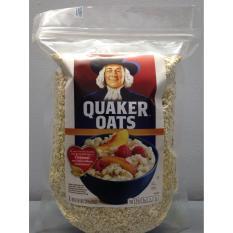 Yến mạch Quaker Oats cán vỡ Quik 1 minute túi 1Kg