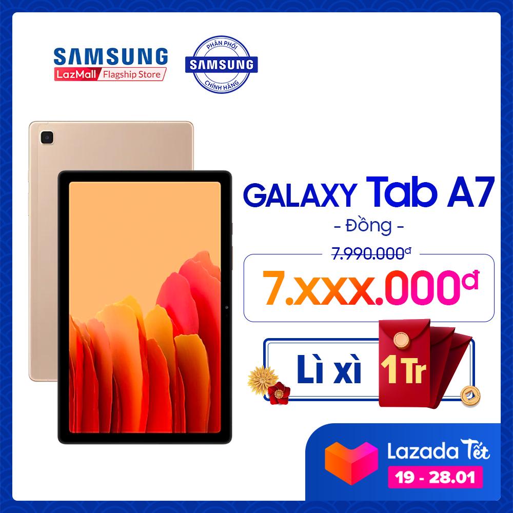 Máy tính bảng Samsung Galaxy Tab A7 (2020) – Hàng chính hãng – Miễn phí vận chuyển – Trả góp 0%
