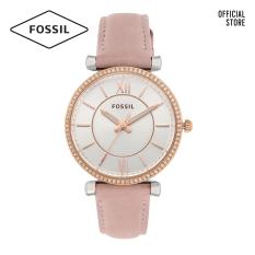 Đồng hồ nữ FOSSIL dây da Carlie ES4484 – màu nude