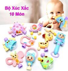 Bộ Xúc Xắc 10 Món Cầm Tay Cho Bé (XX10)