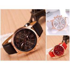(Tặng kèm hộp và pin) Đồng hồ thời trang nam nữ Geneva SC455