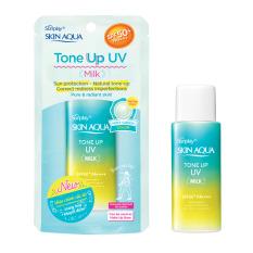 Sữa Chống Nắng Skin Aqua Tone Up UV Milk SPF50+ PA++++ Hiệu Chỉnh Sắc Da 50g
