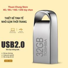 USB Toshiba 4GB 8GB 16GB 32GB mini vỏ nhôm chống nước nhỏ gọn Bảo hành 10 năm 1 đổi 1