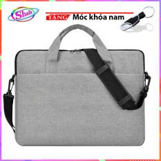 Túi Chống Sốc Laptop 13 – 15.6 inch cao cấp chỉ đôi K21 Shalla Tặng móc khóa cao cấp
