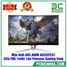 MÀN HÌNH CONG AOC AGON AG322FCX1 32IN FHD 144HZ 1MS FREESYNC GAMING