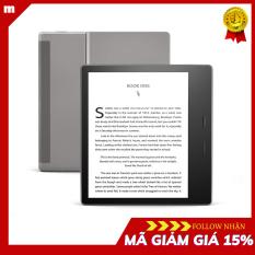 Máy đọc sách Kindle Oasis – thế hệ 10 – có WARM LIGHT – thiết kế tối ưu cho việc sử dụng bằng một tay