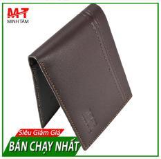Ví/ Bóp Nam Da Bò 100%, Đa Dụng Đựng Vừa Bằng Lái, Cavet Xe… Thời Trang Nam Minh Tâm MTC919T (Đen or Nâu)