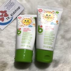 Kem chống nắng cho trẻ em Babyganics SPF 50+ Sunscreen Lotion 59ml