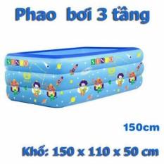 Bể Bơi Phao 3 Tầng Cho Bé 1M5