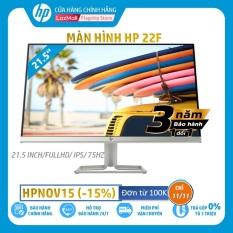 [Trả góp 0%]Màn hình HP 22f (21.5 Inch/FULLHD/60Hz/5Ms/IPS/3AJ92AA) – Hàng Chính Hãng
