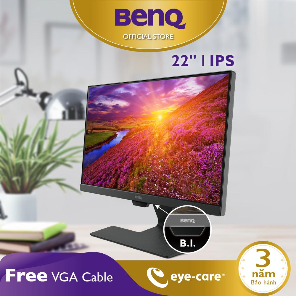 Bảo vệ mắt, chống sáng xanh – Màn hình máy tính BenQ GW2283 22 Inch Full HD 1920 x 1080 IPS 5ms 60Hz IPS Speaker 1W x 2 Eye-care làm việc văn phòng