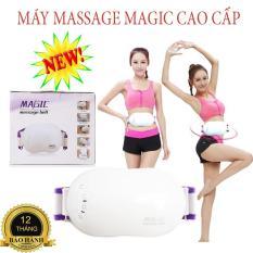Đánh tan mỡ bụng, Máy mát xa bụng, Đai massage Magic cao cấp, giúp đánh tan mỡ thừa, lưu thông máu tốt, cam kết giảm mỡ bụng hiệu quả trong 1 tháng sử dụng,Bảo hành 1 đổi 1,SALE 50%