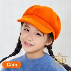 Mũ nón nồi, beret cho bé gái phong cách HÀN QUỐC – màu trơn