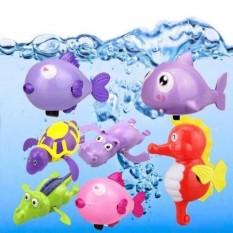 Đồ chơi nhà tắm vặn dây cót bơi trong nước cho bé (giao mẫu ngẫu nhiên)