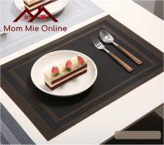 [HCM] Tấm lót bàn ăn hai viền sang trọng