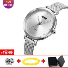 Đồng Hồ Nữ SKMEI Dây Thép Lụa Sành Điệu chống Nước Cao Cấp BW057-Boss Watches