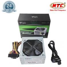 Nguồn dành cho máy tính bàn Vision 650W – Fan 12cm (bạc) + tặng kèm dây nguồn – Nhất Tín Computer