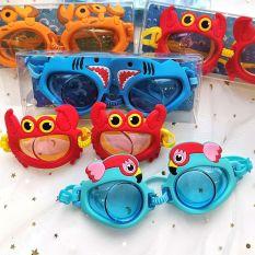 [HCM]Kính bơi bảo vệ mắt hình thú đáng yêu cho bé – Mắt Kính bơi trẻ em – Smart Baby