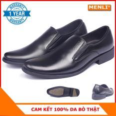 [MIỄN SHIP] Giày lười giày mọi nam da bò MENLI GLLZ67 sang trọng (FORM LỚN)