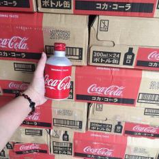 THÙNG 24 CHAI COCA COLA 300ML NẮP VẶN NHẬT BẢN