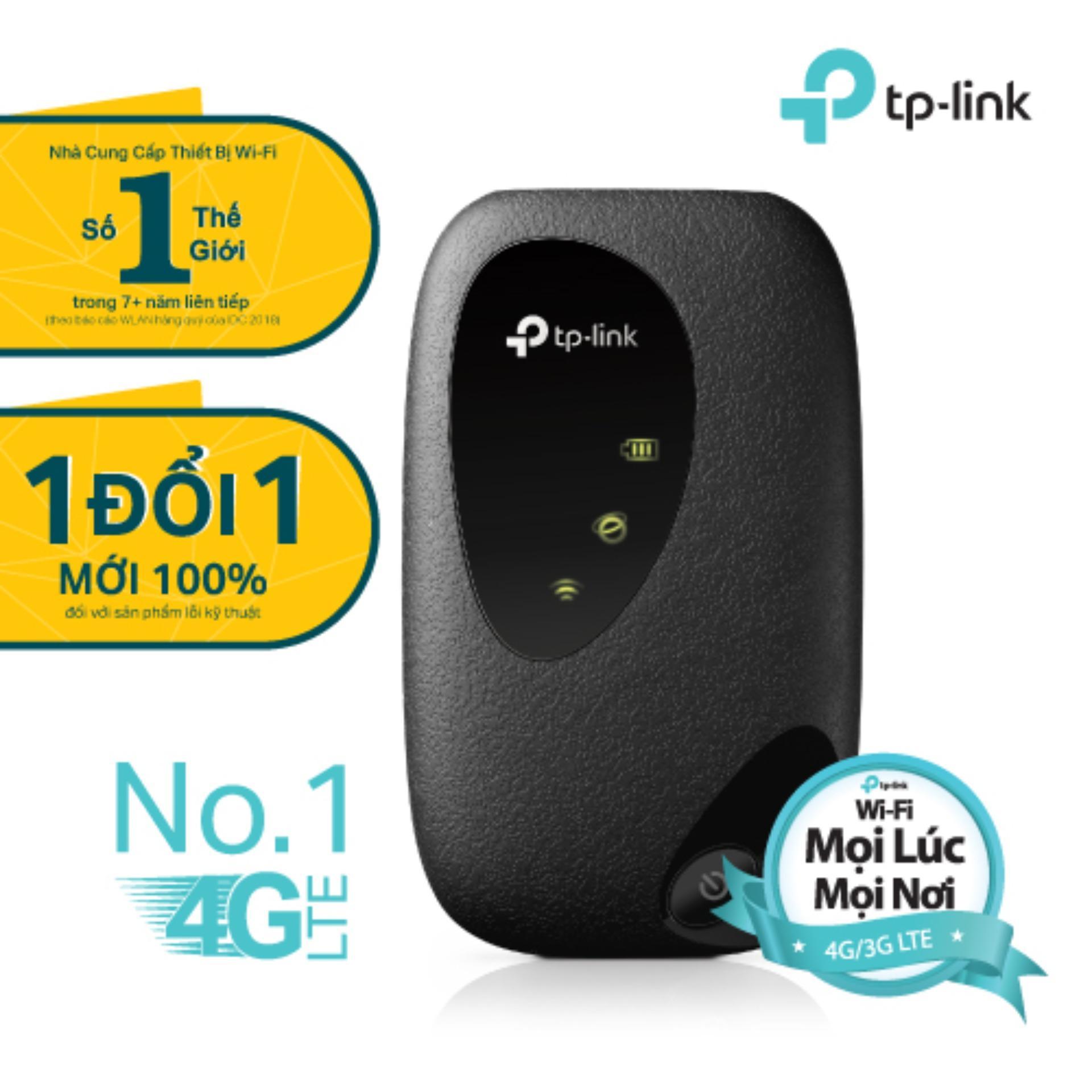 TP-Link M7200 bộ phát WIFi di động 4G – tặng áo mưa – Hãng phân phối chính thức Đang Bán Tại TP-Link