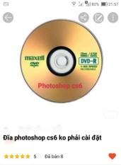 đĩa photoshop cs6 ko cần cài đặt