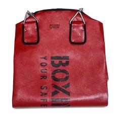 Vỏ bao cát treo boxing 1m2 ( kèm xích ) – Đỏ