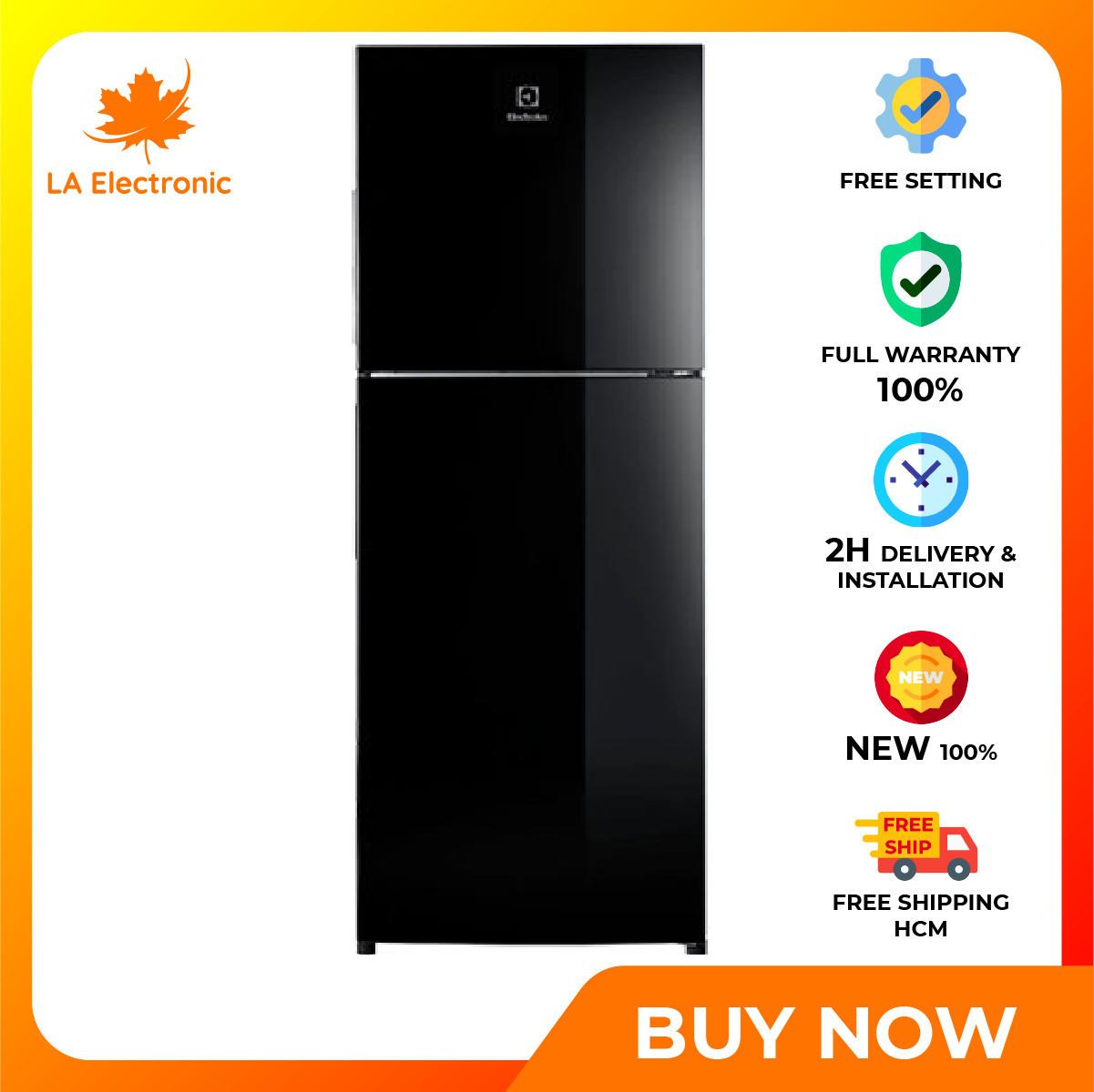 Trả Góp 0% – Tủ Lạnh ELECTROLUX Inverter 256 Lít ETB2802J-H – Miễn phí vận chuyển HCM