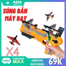 Đồ chơi bắn máy bay cho bé, kèm 4 máy bay mô hình, bắn xa 3-8m, Đồ chơi vận động ngoài trời cho bé, bắn máy bay đồ chơi chất lượng cao MÁY BẮN MÁY BAY DÀNH CHO TRẺ EM MẪU MỚI SIÊU HOT, Quà tặng cho các bé