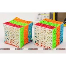 Qiyi Dna Cube Rubik 3X3 Hoa Văn Siêu Đẹp Không Viền