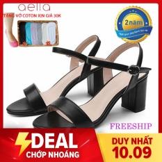 Giày cao gót nữ 5cm hậu C AELLA205 – Quí phái , êm ái – Giày nữ cao gót 2020