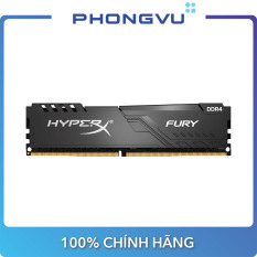 Bộ nhớ/ Ram DDR4 Kingston HyperX Fury Black 8GB (2666) (HX426C16FB3/8) – Bảo hành 36 tháng