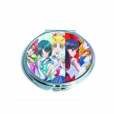 Gương cầm tay 2 mặt IN HÌNH Sword Art Online Sailor Moon Tenki no Ko anime chibi