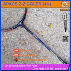 [Vợt cầu lông Apacs Z-Ziggler 6.4mm – 4U] Vợt thân đũa 6.4mm linh hoạt phản công