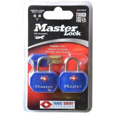 Khóa Vali TSA Master Lock 4681 TBLR (Xanh đỏ)