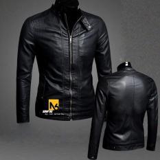 Áo Khoác Da Nam Đen Rev Leather – B21