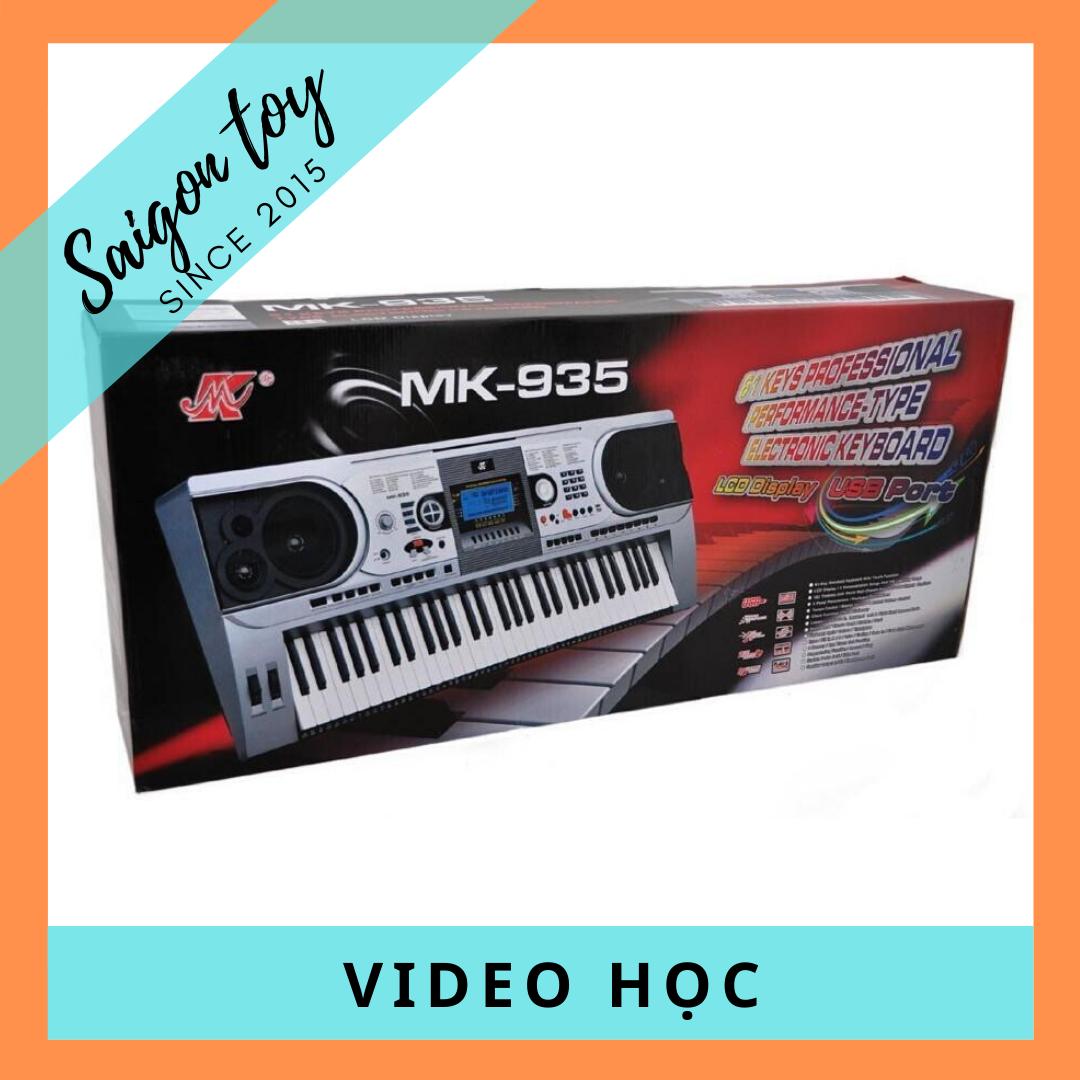 [HỖ TRỢ VẬN CHUYỂN – TẶNG KÈM GIÁO TRÌNH]Đàn Organ MEIKE MK-935 Keyboard cho người mới tập chơi – Bảo hành 12 tháng