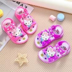 Giày sandal quai hậu cho bé gái hình mèo kiity cute