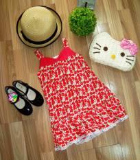 Đầm tole (lanh) dễ thương siêu sale cho bé gái thoải mái, thoáng mát vui chơi mùa hè