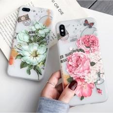 Ốp lưng iphone Hoa hồng và Hoa trà mẫu đang hot 2020 cho iPhone 6 6S 6SPlus 7 8 8Plus X XS MAX XR 11/12/mini/PROMAX a37 & a01a