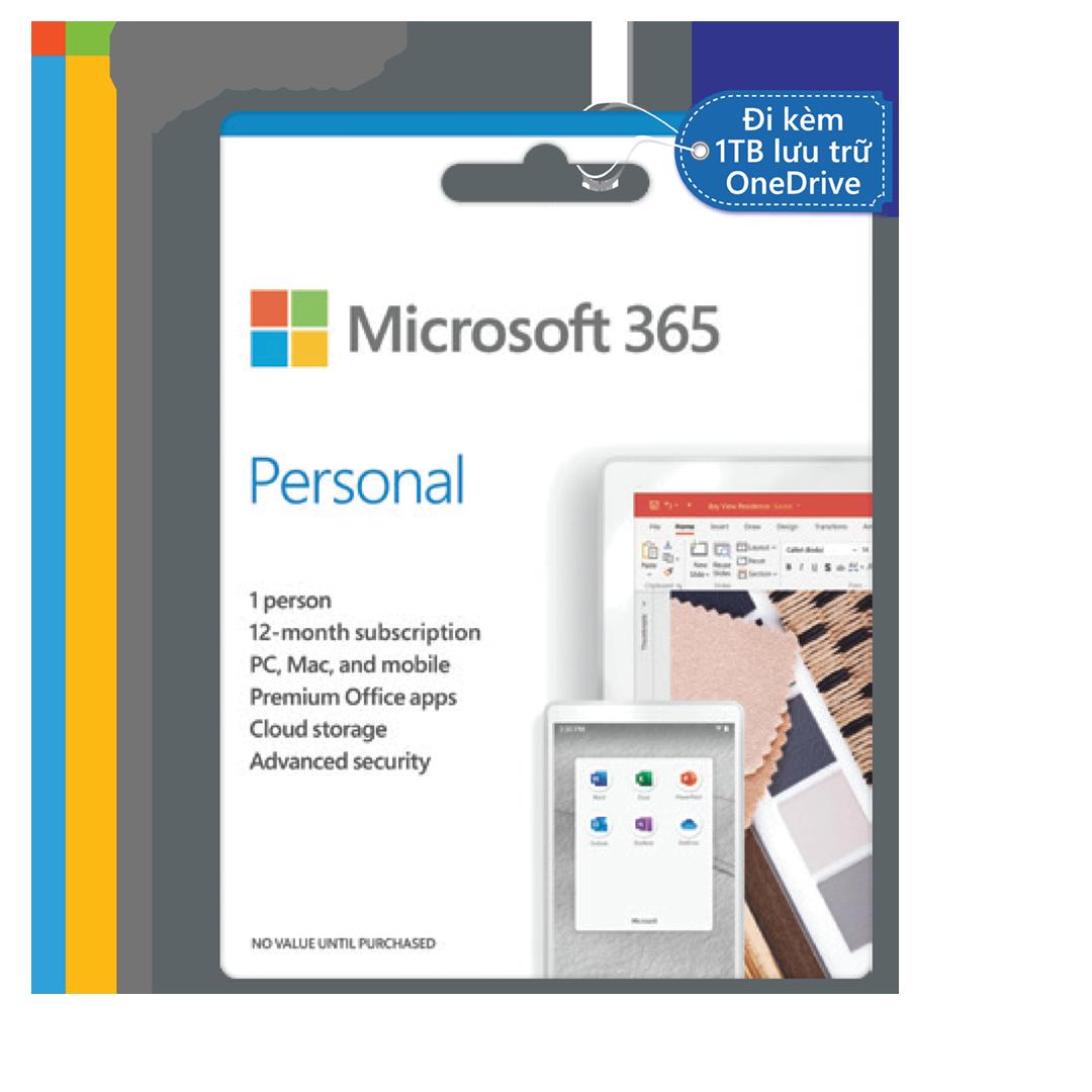 Phần mềm Microsoft Office 365 Personal